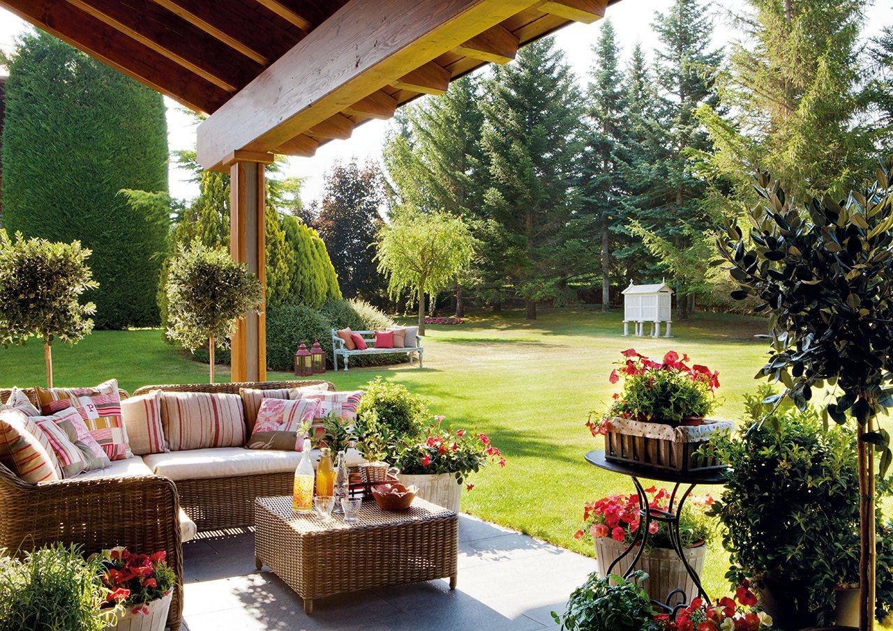 Tips para que tu jardín sea un espacio acogedor